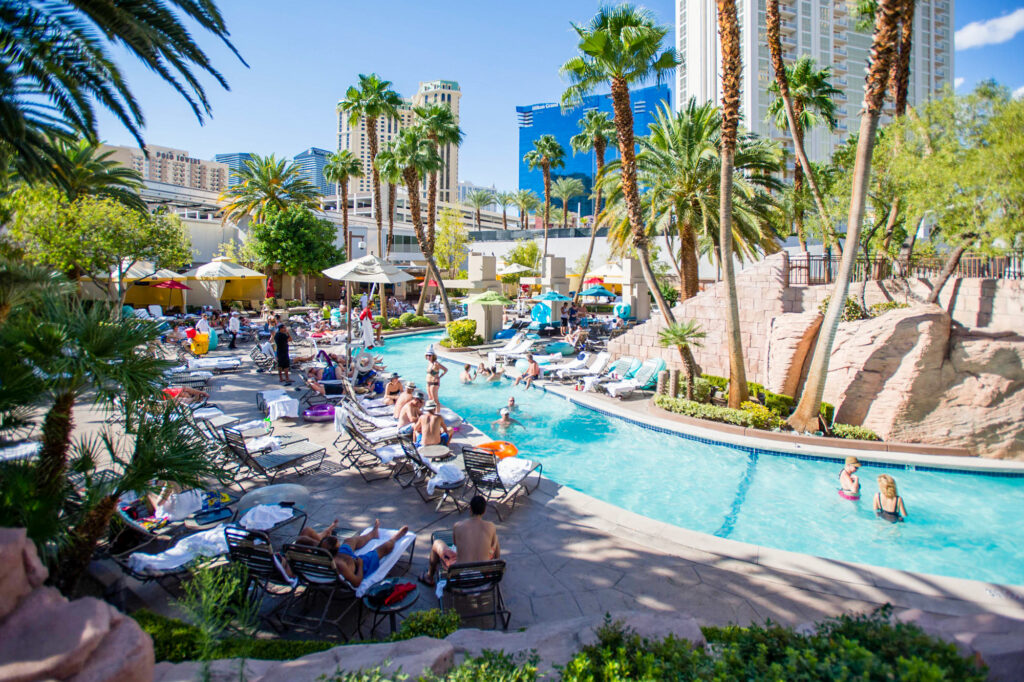 The Backlot River Pool at the MGM Grand Hotel & Casino