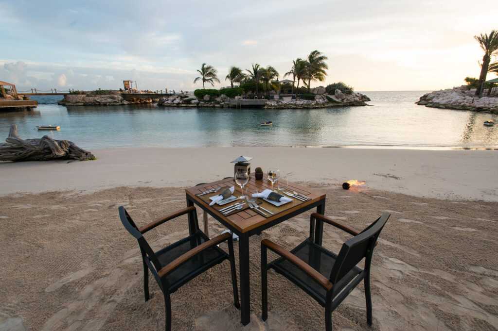 Baoase Culinary Beach Restaurant at the Baoase Luxury Resort