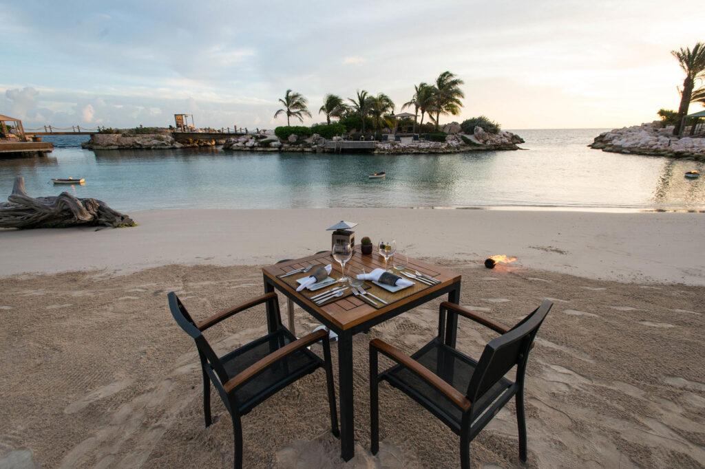 Baoase Culinary Beach Restaurant at the Baoase Luxury Resort