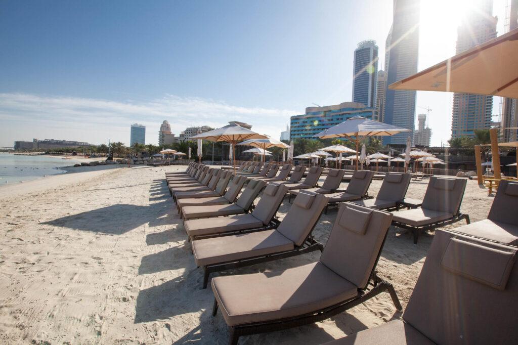 Barasti at the Le Meridien Mina Seyahi Beach Resort and Marina