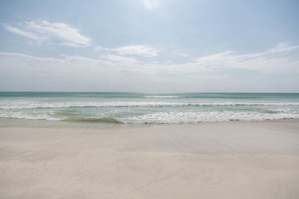 Beach at the Salalah Beach Villas
