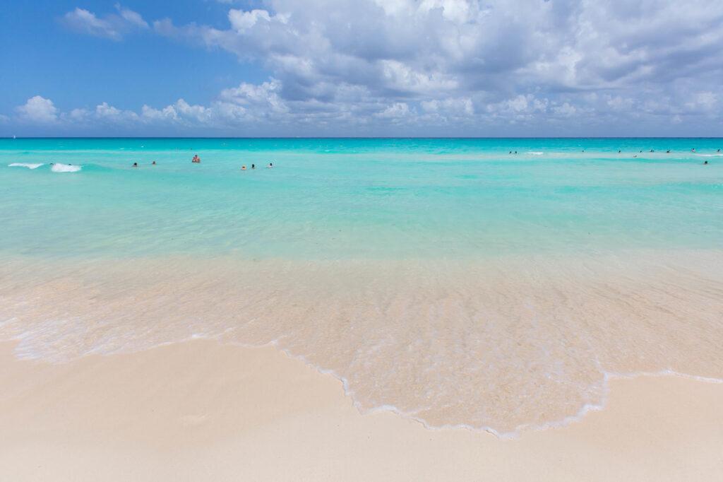 Beach at the Hotel Riu Palace Riviera Maya