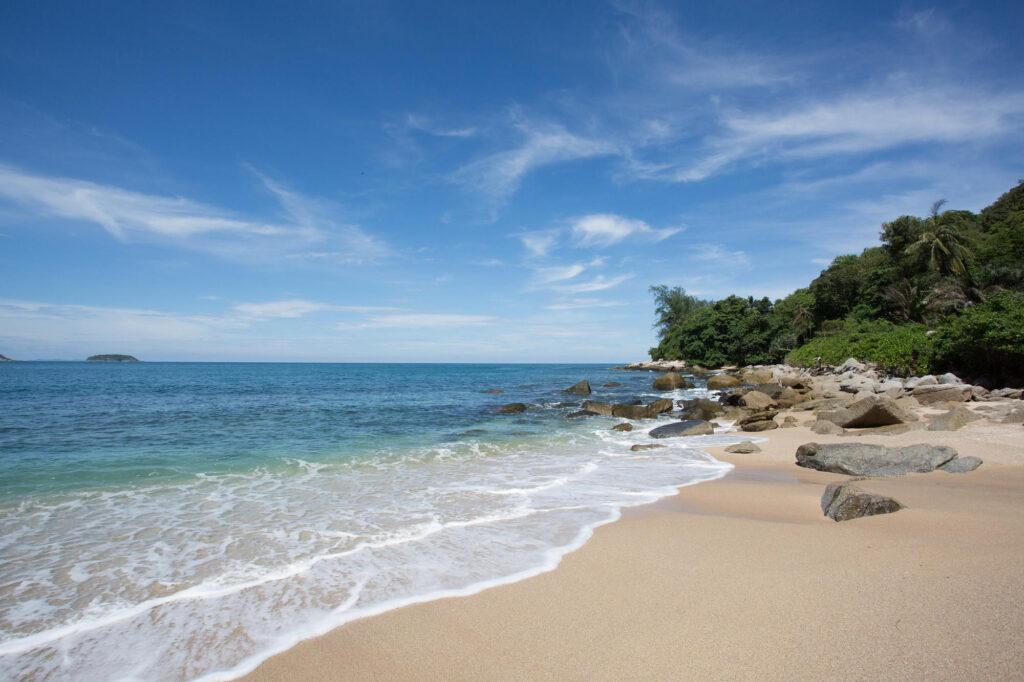 Beach at the Baan Krating Phuket Resort