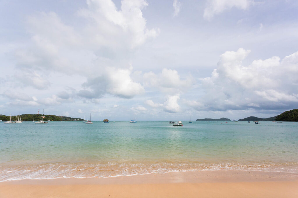 Beach at the Bandara Villas Phuket