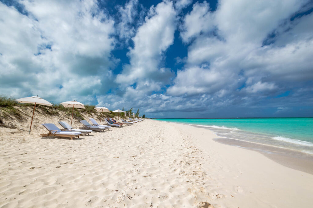 Beach at the COMO Parrot Cay, Turks and Caicos