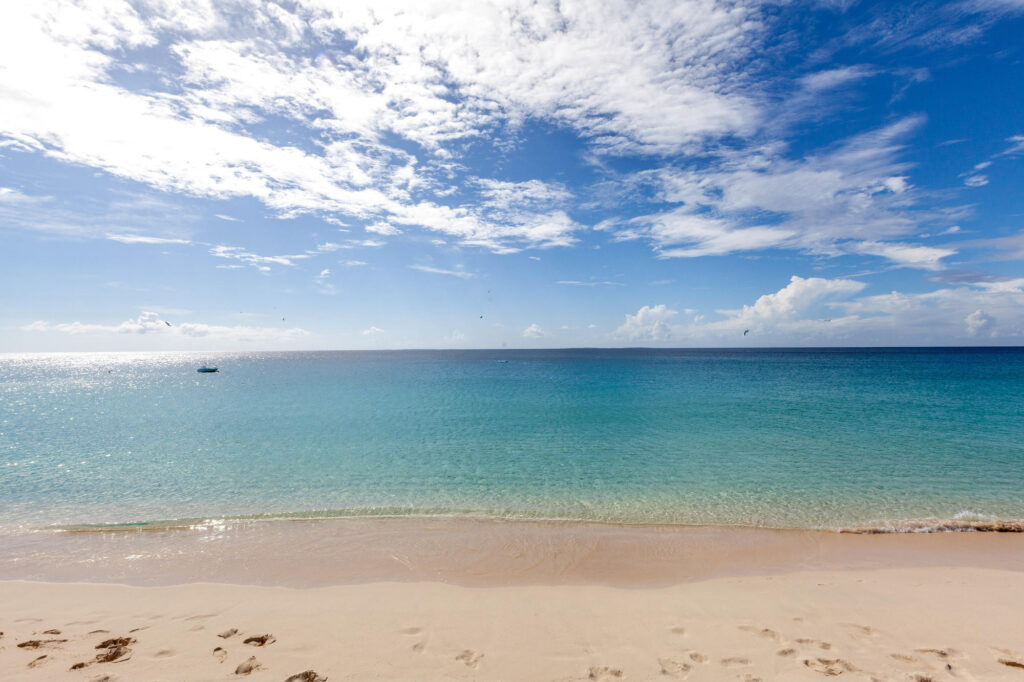 Beach at the Frangipani Beach Resort