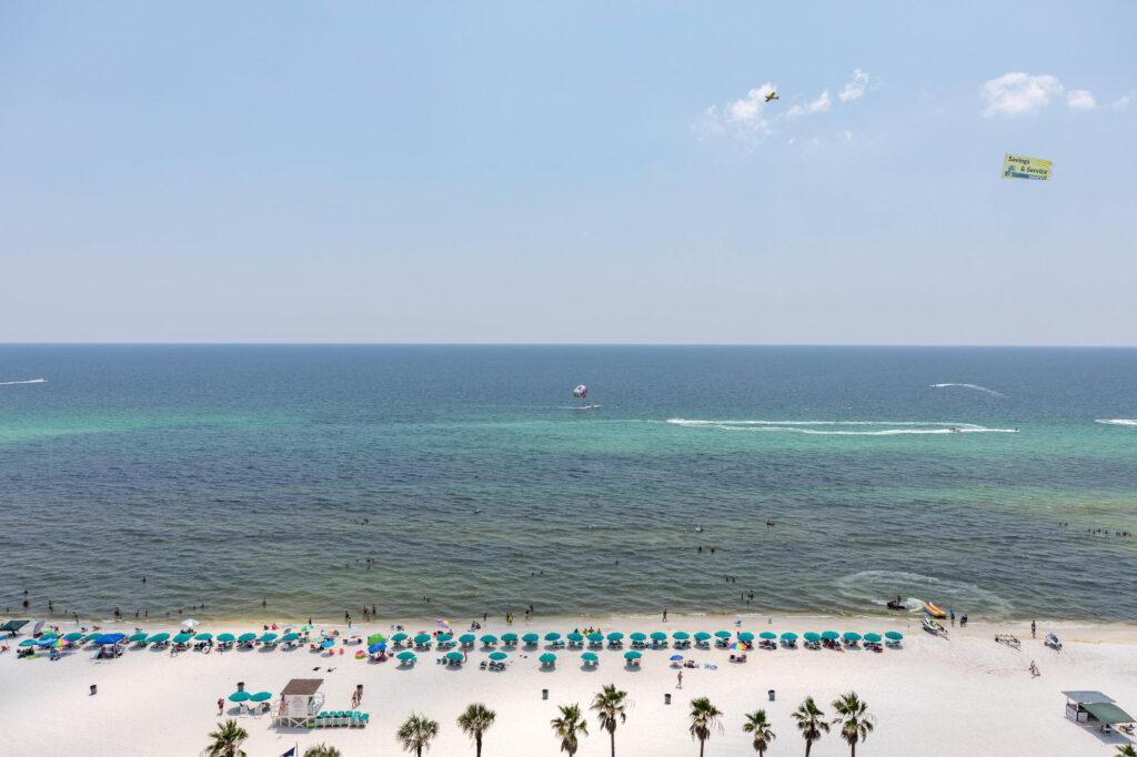 Beach at the Holiday Inn Resort Panama City Beach