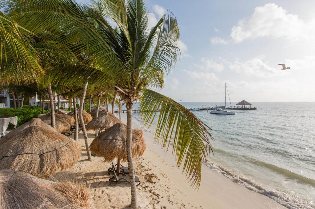 Beach at the Desire Riviera Maya Pearl Resort