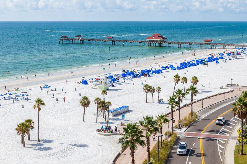 Beach at the Hyatt Regency Clearwater Beach Resort & Spa
