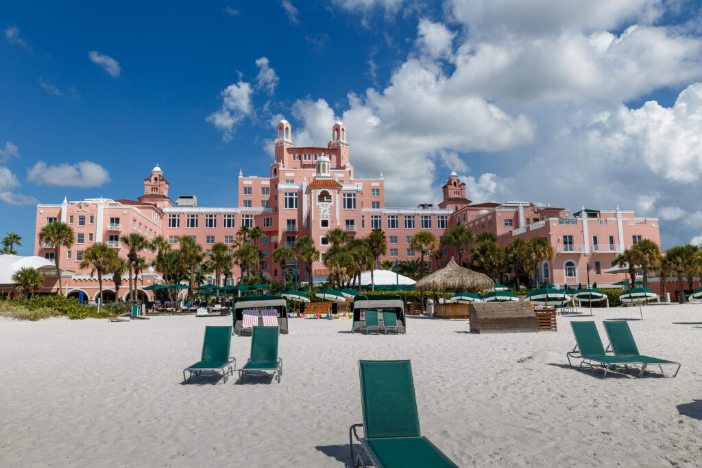 Beach at The Don CeSar