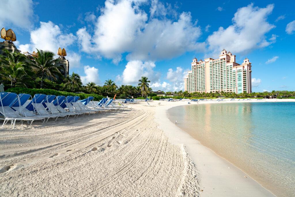 Beach at The Cove at Atlantis