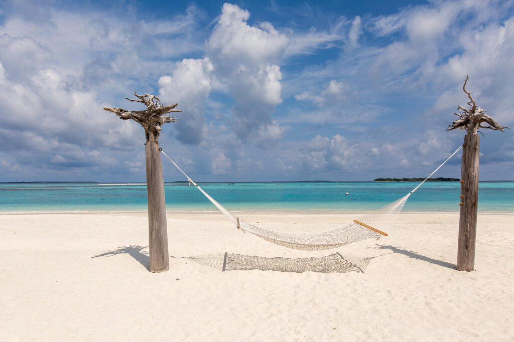 Beach at the Noku Maldives