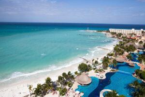 Beach at the Grand Fiesta Americana Coral Beach Cancun