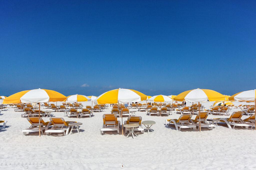 Beach at the Sandpearl Resort