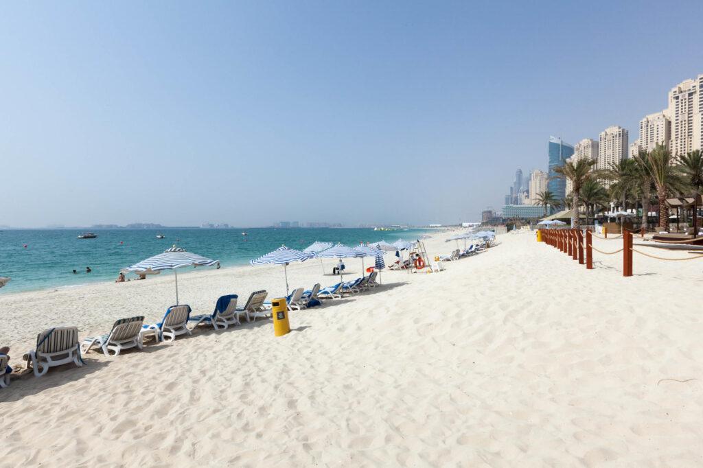 Beach at the Sheraton Jumeirah Beach Resort