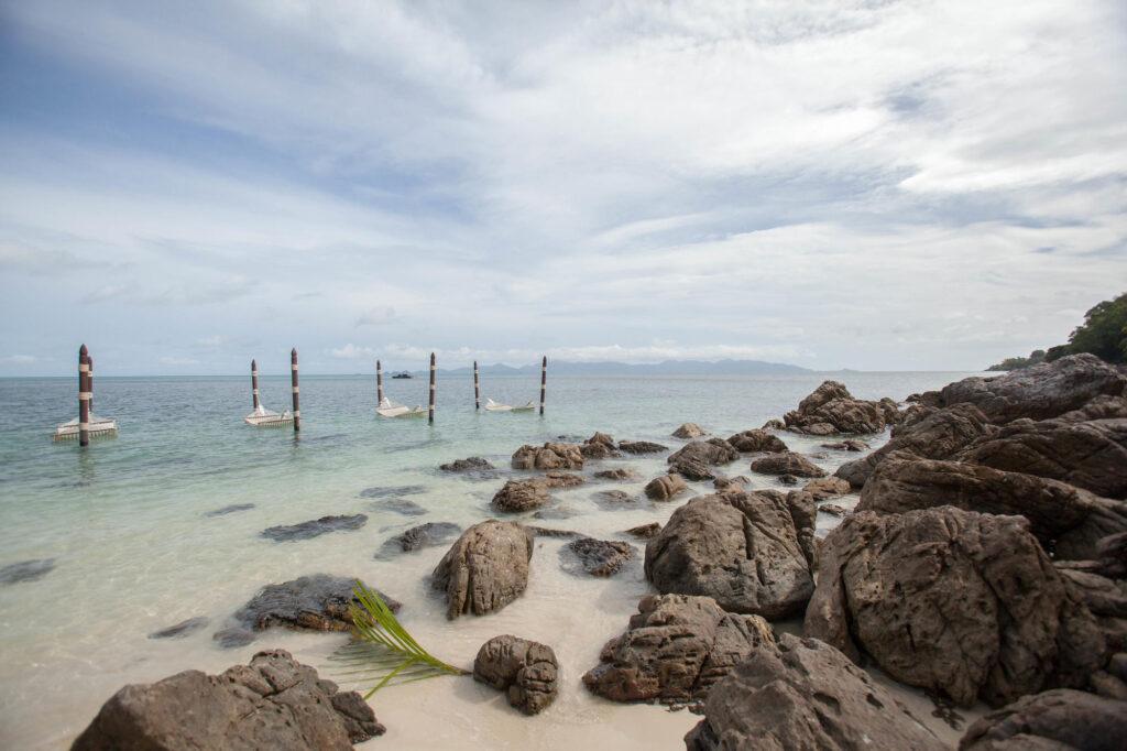 Beach at the Four Seasons Resort Koh Samui Thailand