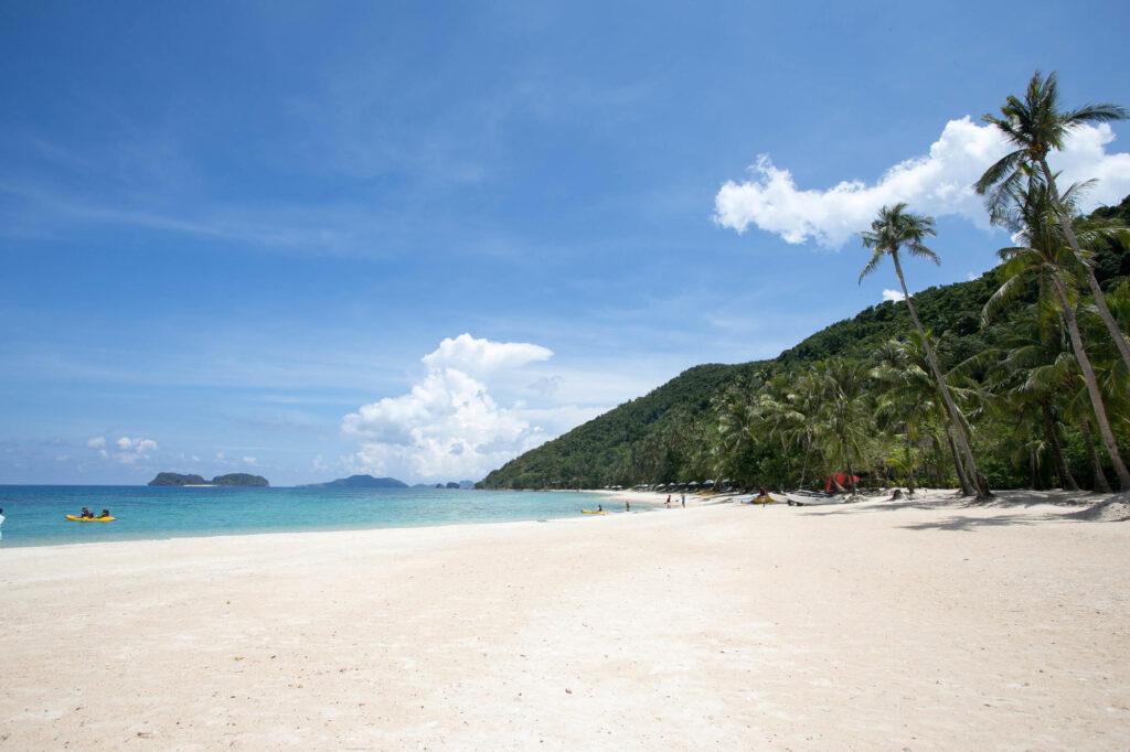 Beach at the El Nido Resorts Pangulasian Island