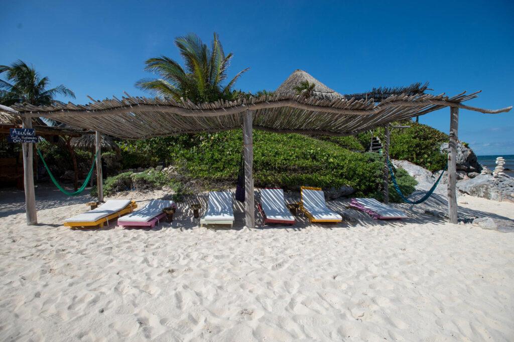 Beach at the Azulik