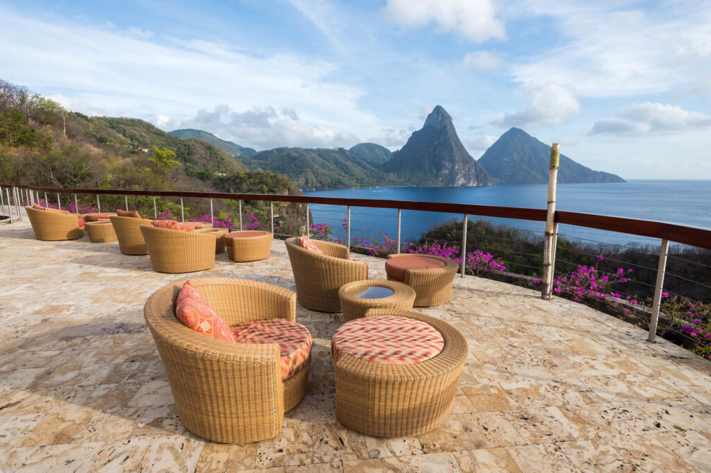 Celestial Terrace at Jade Mountain Resort