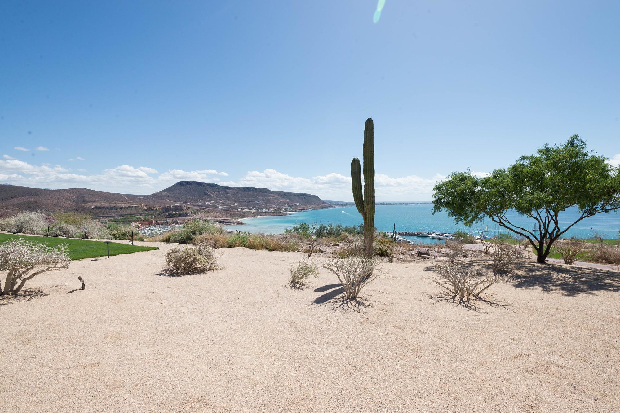 Desert coast of La Paz from CostaBaja Resort & Spa