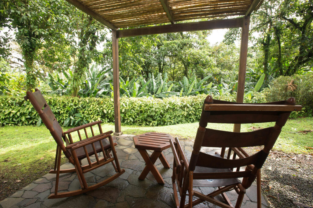 The Honeymoon Suite at the Villa Blanca Cloud Forest Hotel and Nature Reserve