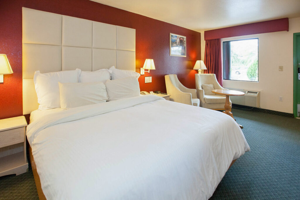 The King Room at the Florida City Travelodge