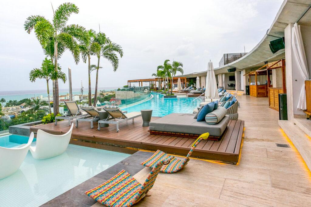 The Main Pool at the Thompson Playa Del Carmen
