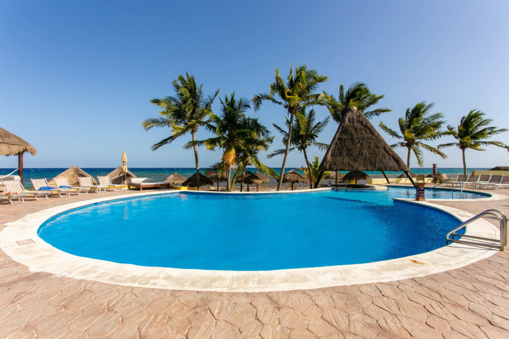 The Main Pool at the Melia Cozumel Golf - All Inclusive