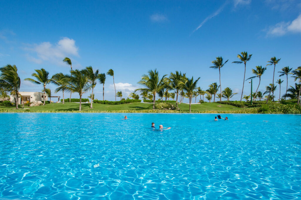 The Moon Pool at the Hard Rock Hotel & Casino Punta Cana