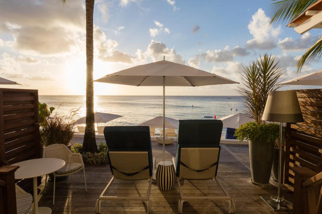 The Oceanfront Suite at the Fairmont Royal Pavilion