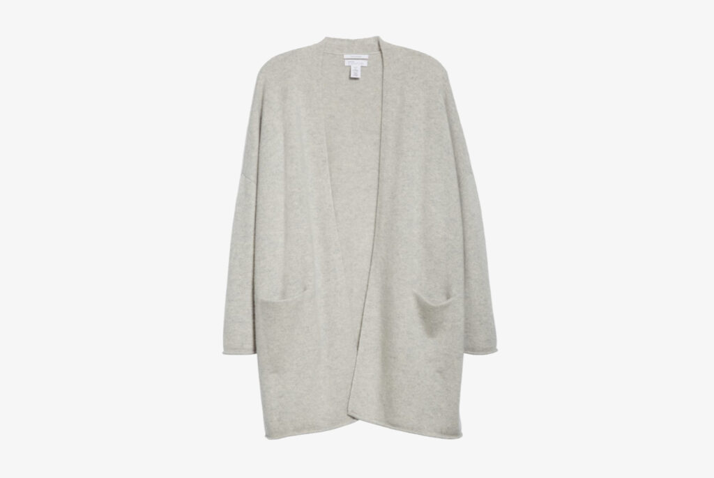 Brushed Cashmere Cardigan