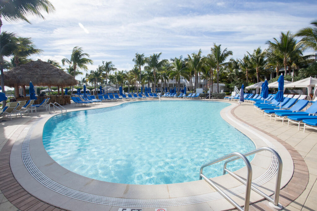 The Pool at the South Seas Island Resort