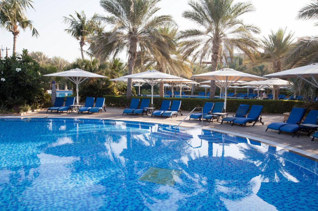 The Pool at Al Qasr at the Jumeirah Dar Al Masyaf at Madinat Jumeirah