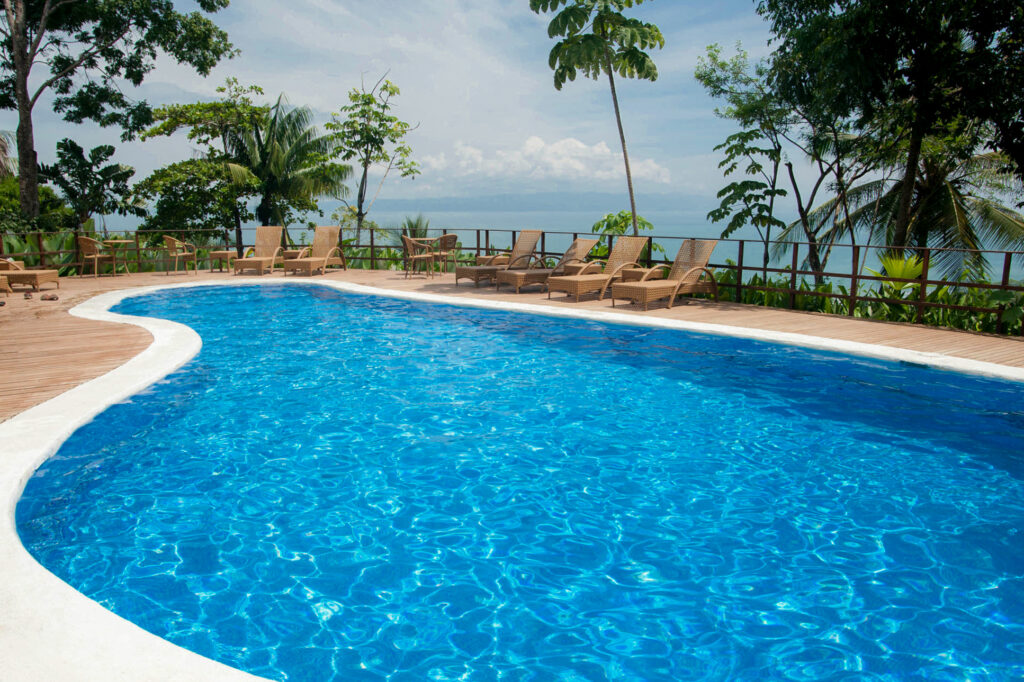 Pool at the Lapa Rios Ecolodge Osa Peninsula