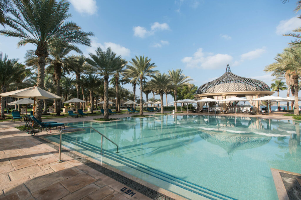 The Pool at The Palace at One&Only Royal Mirage Dubai