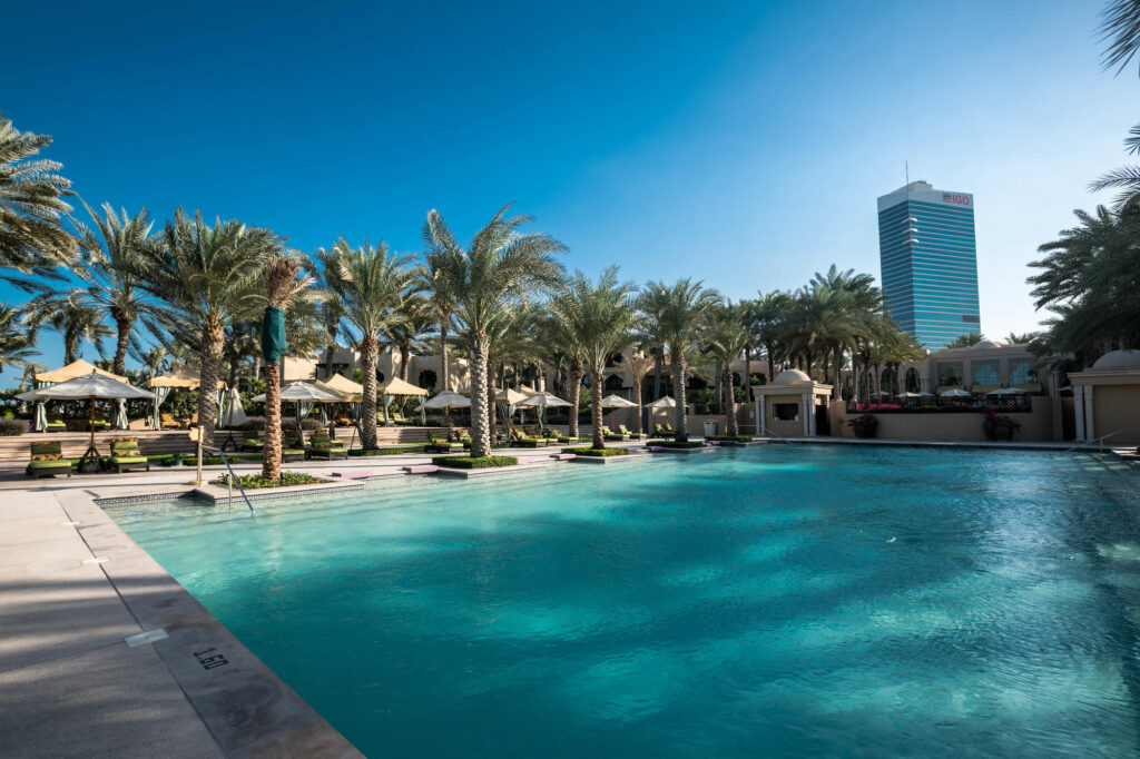 The Pool at the Residence & Spa at One&Only Royal Mirage Dubai