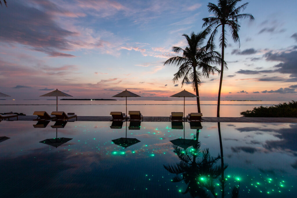 The Pool at the Noku Maldives