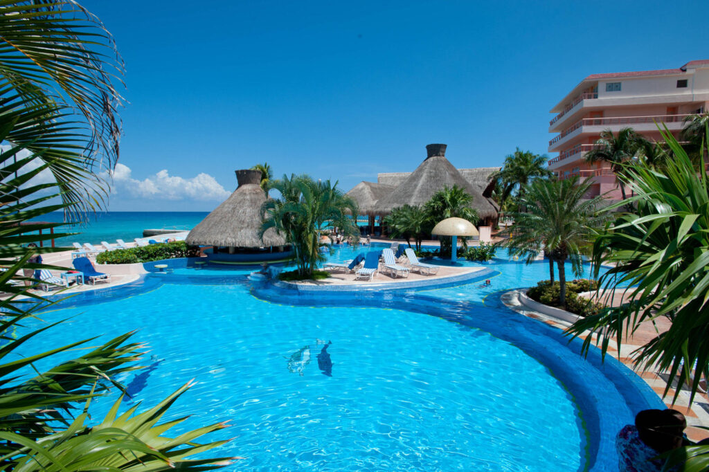 Pool at the El Cozumeleno Beach Resort