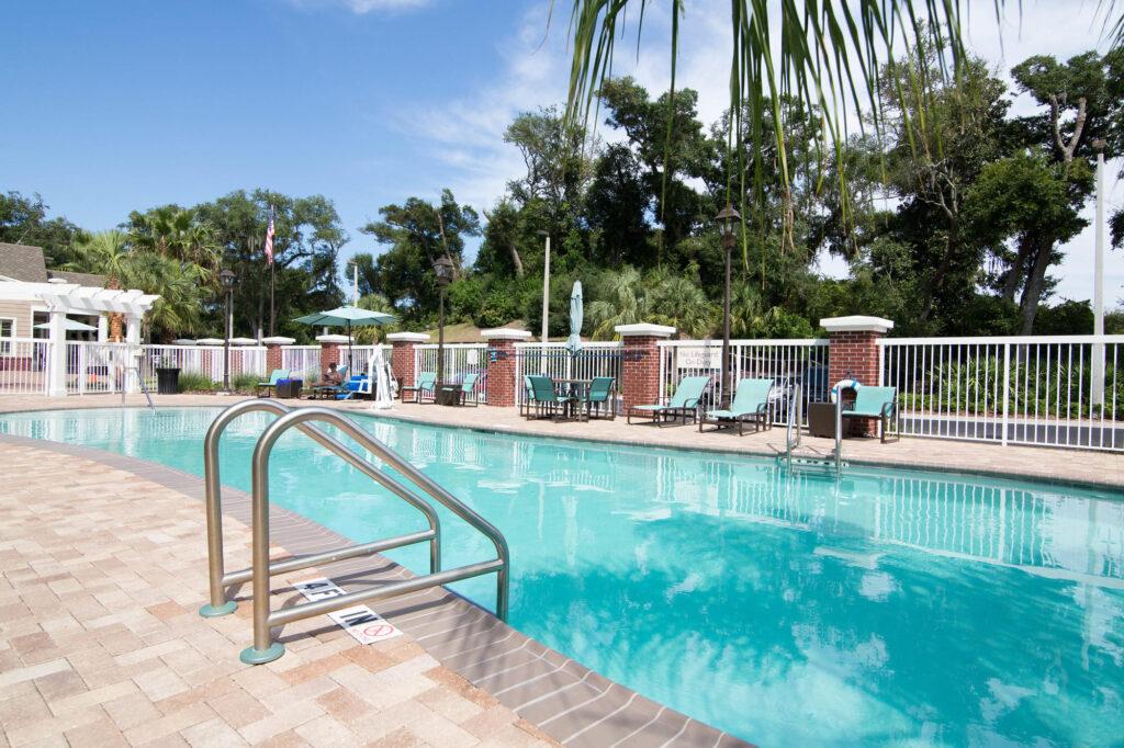 The Pool at the Residence Inn Amelia Island