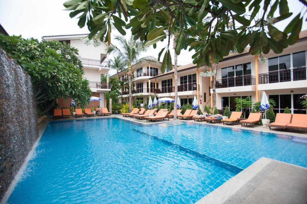 The Pool at the Ark Bar Beach Resort