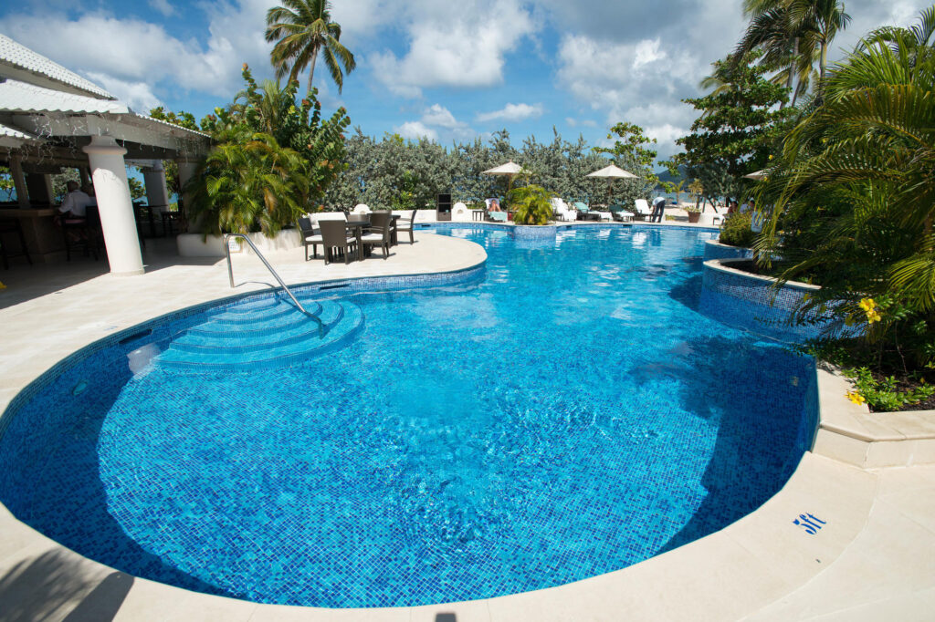 Pool at Spice Island Beach Resort