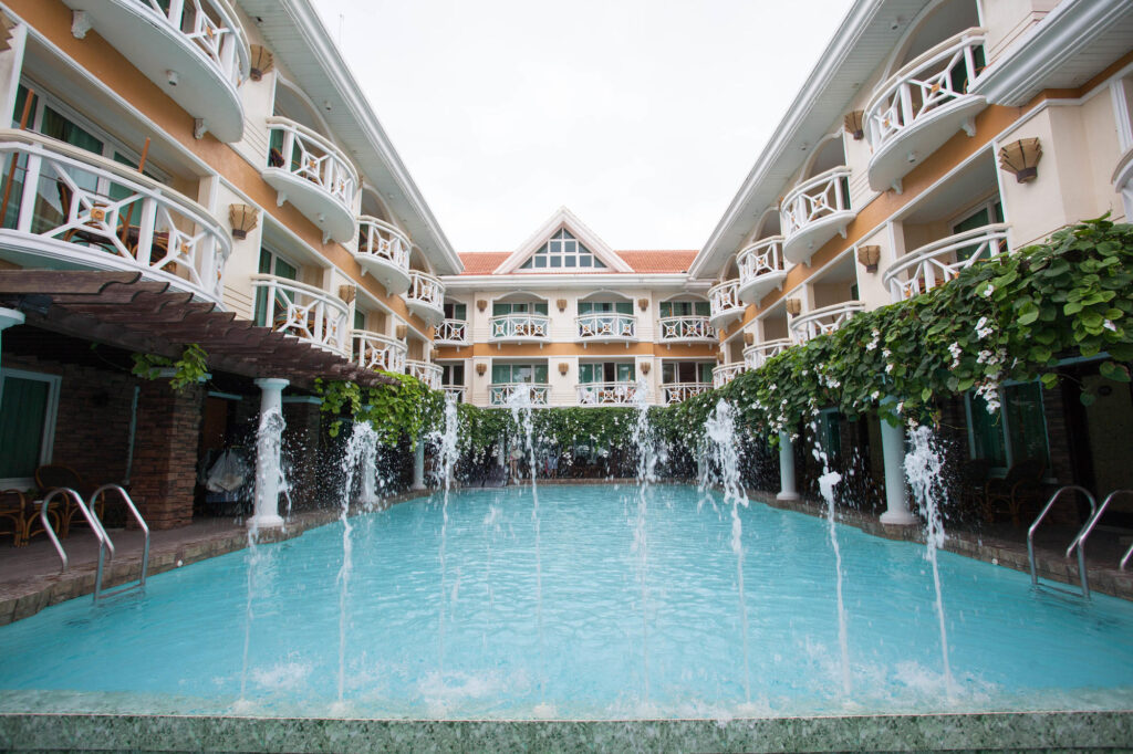 The Pool at the Boracay Mandarin Island Hotel