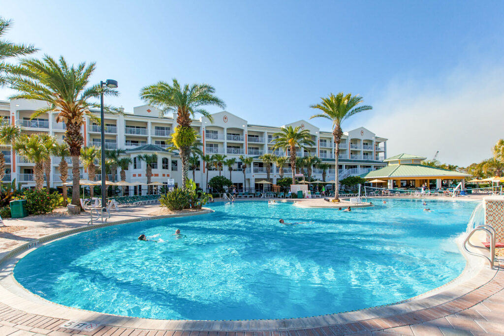 The Pool at the Holiday Inn Club Vacations Cape Canaveral Beach Resort