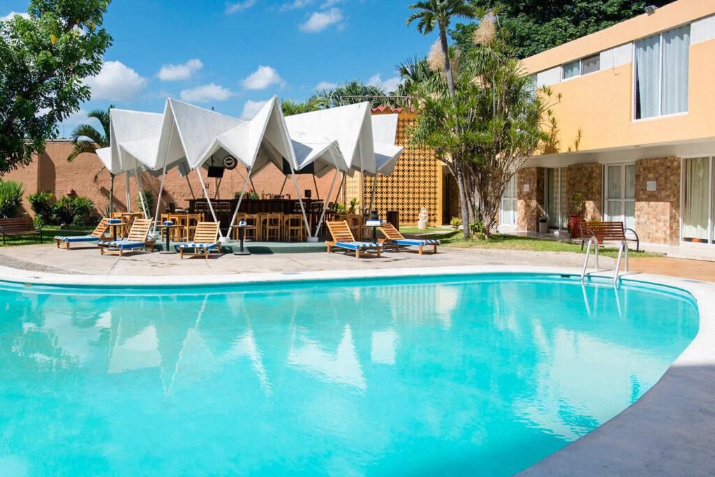 The Pool at the Hotel Maria del Carmen