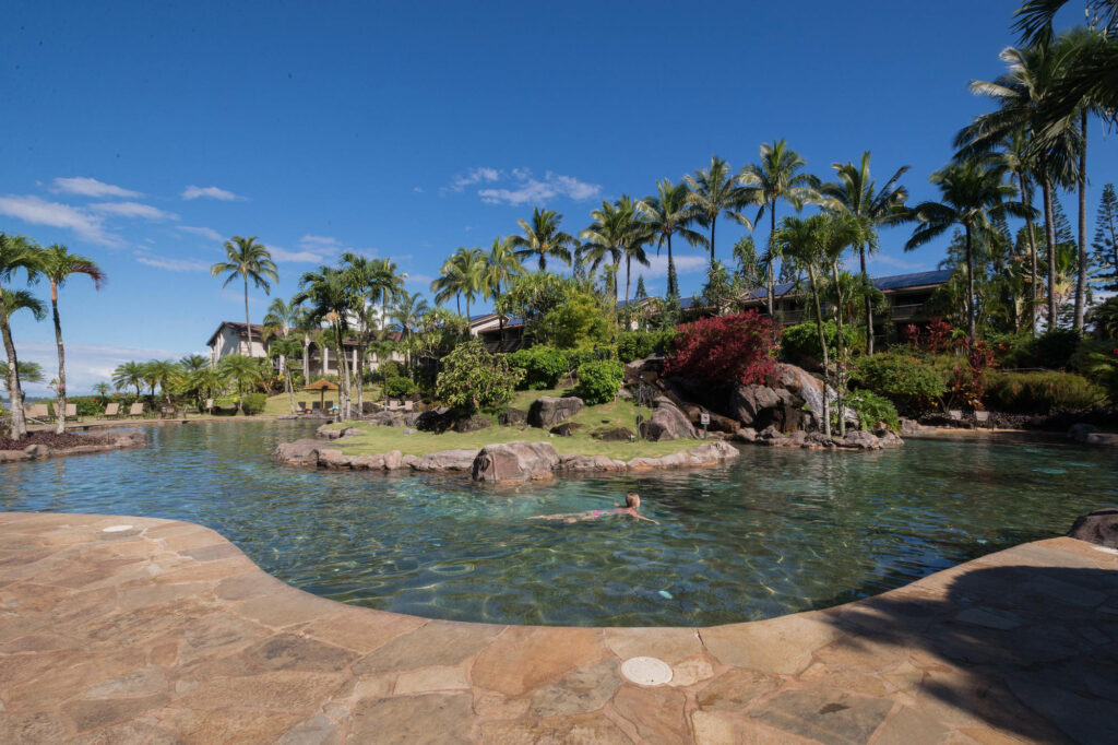 The Pool at the Hanalei Bay Resort