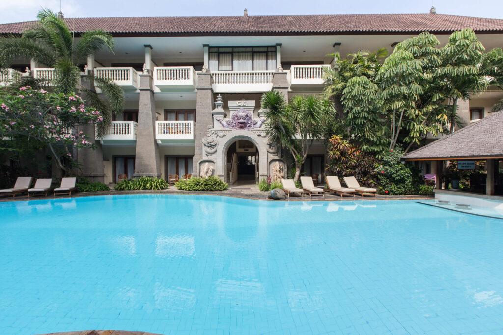 The Second Pool at the Hotel Kumala Pantai