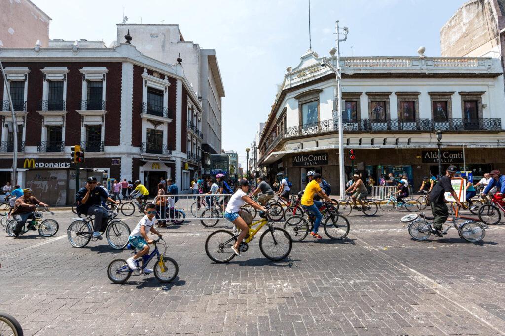 Street at the NH Collection Guadalajara Centro Historico