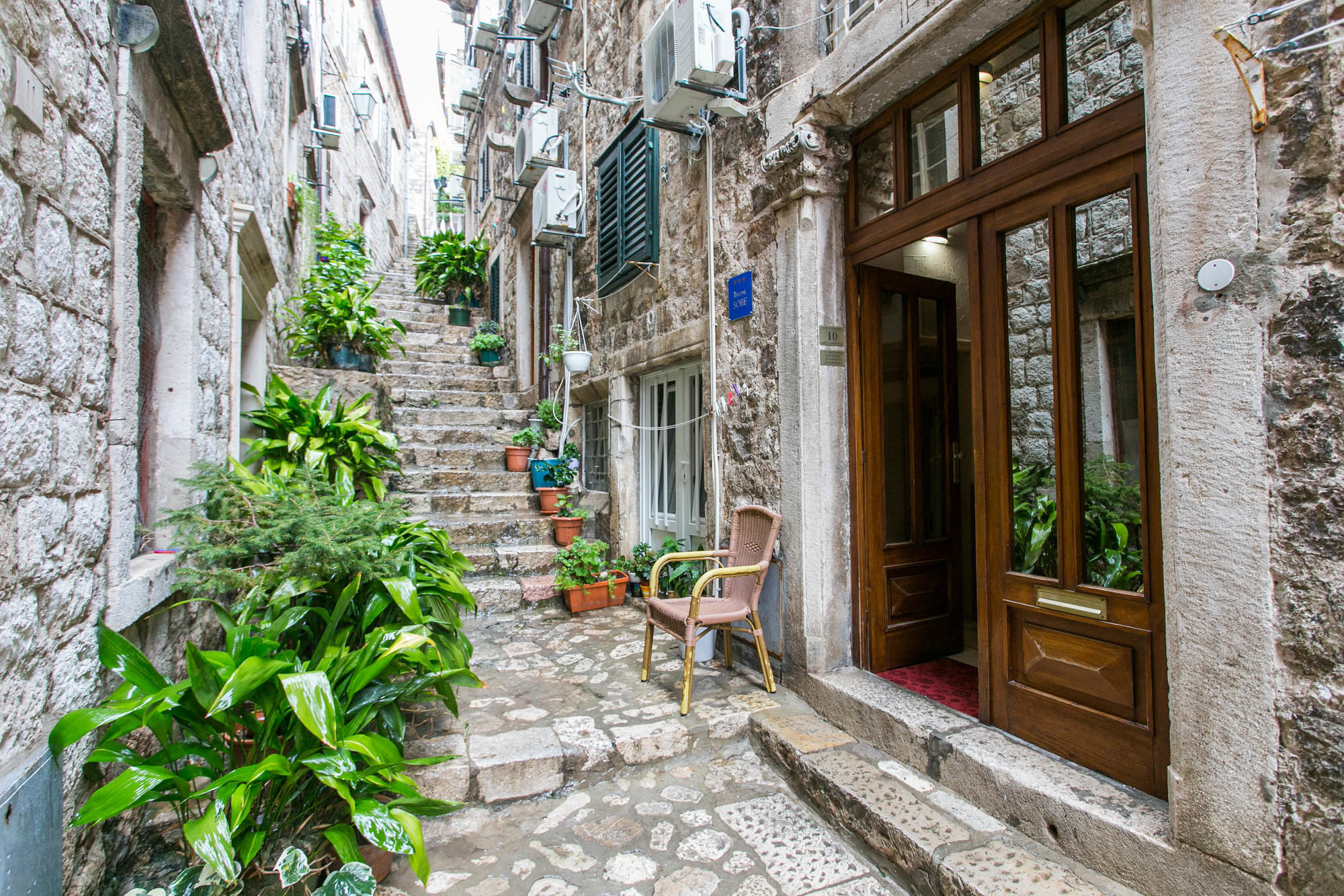 The charming stone alleyways of Dubrovnik