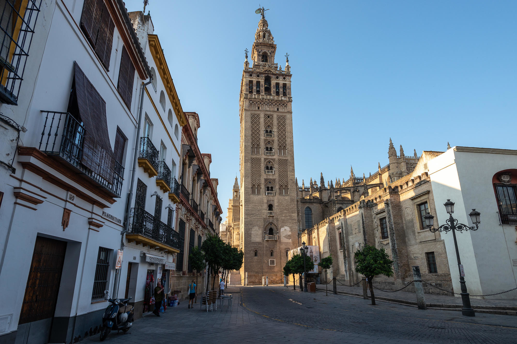 Seville cathedral from the street