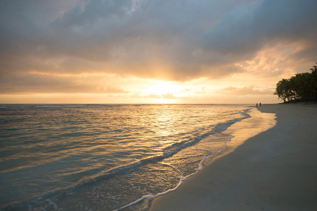 Sunrise at the Excellence Punta Cana